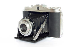 Antique Photo Camera. Studio Photo old Camera Royalty Free Stock Image