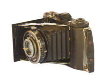 Antique photo camera Stock Photos