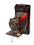 Antique photo camera Stock Photography