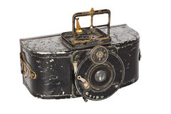 Antique photo camera Royalty Free Stock Photography