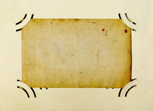 Antique Photo frame Stock Images