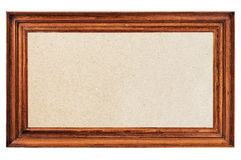 Antique photo frame Royalty Free Stock Image