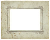 Antique photo frame 2 Stock Images