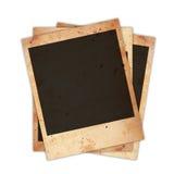 Polaroid photo card Stock Image
