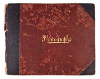 Antique Photograph Album Royalty Free Stock Image