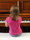 Antique Piano Royalty Free Stock Photos