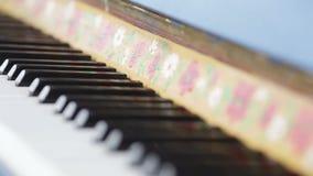 Antique piano stock video