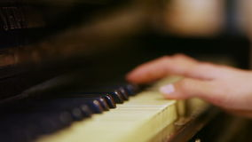 Antique piano Royalty Free Stock Image