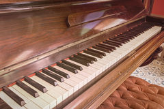 Antique piano style classic tone. Stock Images