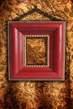 Antique picture frame Royalty Free Stock Photos