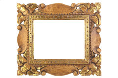 Antique picture frame. Royalty Free Stock Photo