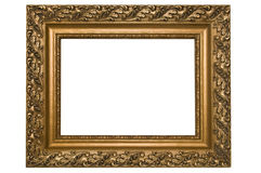 Antique Picture Frame. On a white background Stock Image