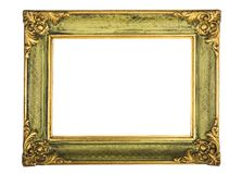 Antique picture frame. Antique  frame isolated on white background Stock Photo