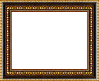 Antique picture frame isolated Royalty Free Stock Images