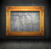 Antique picture frames Royalty Free Stock Photography