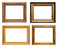 Antique picture frames Stock Photography