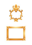 Antique Picture Frames Illustration Stock Photography