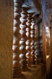Antique pillar Stock Images