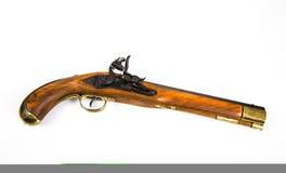 Antique Pistol. An antique flintlock pistol Royalty Free Stock Photo