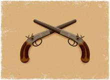 Antique Pistol Royalty Free Stock Images