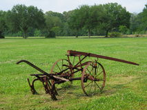 Antique Plow Stock Photography
