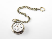 Antique pocket watch. From 19th century Royalty Free Stock Photos