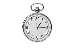 Antique pocket watch Royalty Free Stock Photos