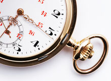 Antique pocket watch Stock Photography