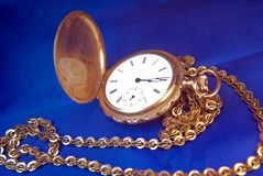 Antique pocket-watch Royalty Free Stock Photo