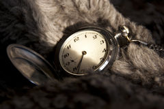Antique pocket watch. Stock Photos