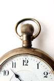 Antique pocket watch. Closeup on very old pocket watch Stock Photos