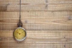 Antique pocket watch Royalty Free Stock Photo