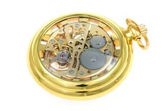 Antique pocket watch. Stock Image