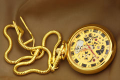 Antique pocket watch. Stock Photo