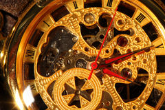 Antique pocket watch. Royalty Free Stock Images