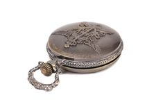 Antique pocket watch. Royalty Free Stock Image