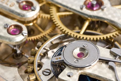 Antique Pocket Watch Mechanism Stock Photos