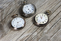 Antique pocket watches Stock Photography