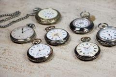 Antique pocket watches Stock Photo