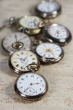 Antique pocket watches Stock Images
