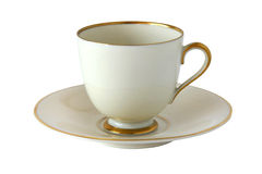 Antique porcelain cup Royalty Free Stock Photography