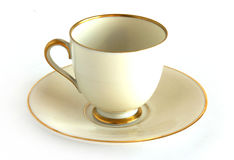 Antique porcelain cup Royalty Free Stock Image