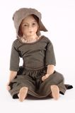 Antique Porcelain Doll Royalty Free Stock Photography