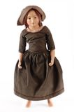 Antique Porcelain Doll Stock Photo