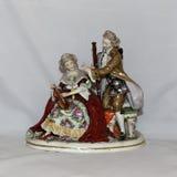 Antique porcelain figurine Stock Photography