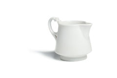 Antique porcelain milk jug Stock Photos
