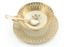 Antique porcelain tea cup Royalty Free Stock Photos