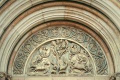 Antique portal Royalty Free Stock Photos