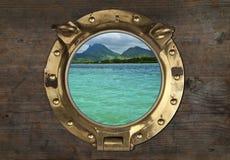 Antique Porthole Stock Images
