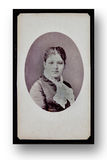 Antique Portrait of a Lady Stock Photo